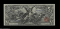 Large Size:Silver Certificates, Fr. 268 $5 1896 Silver Certificate CGC Choice Uncirculated ...