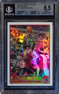 Basketball Cards:Singles (1980-Now), 2003 Topps Chrome Lebron James (Refractor) #111 BGS NM-MT+...