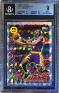 Basketball Cards:Singles (1980-Now), 1996 Topps Kobe Bryant (Draft Redemption) #13 BGS Mint 9.