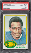 Football Cards:Singles (1970-Now), 1976 Topps Walter Payton #148 PSA NM-MT 8.5. Offer...