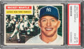 Baseball Cards:Singles (1950-1959), 1956 Topps Mickey Mantle #135 PSA EX-MT 6. Offered...