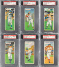 Baseball Cards:Sets, 1955 Topps Doubleheaders Complete Set (66). Offer...