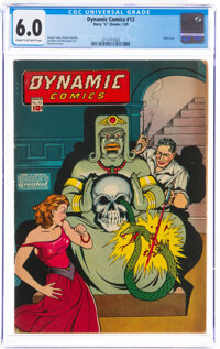 Dynamic Comics #13 (Chesler, 1945) CGC FN 6.0 Cream to off-white pages