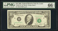 Small Size:Federal Reserve Notes, Fr. 2027-H* $10 1985 Federal Reserve Star Note. PMG Gem Un...