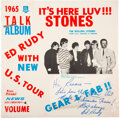 Music Memorabilia:Autographs and Signed Items, The Rolling Stones It's Here Luv!!! Stones (The Beatles Related) Signed & Sealed by Ed Rudy ...