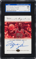 Basketball Cards:Singles (1980-Now), 2000 Ultimate Collection Michael Jordan (Ultimate Signatures Gold) #MJ-G SGC 96 Mint 9 - #'d 20/25. ...