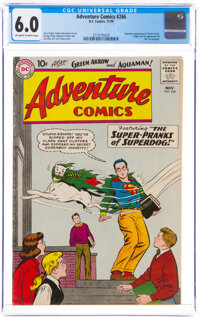 Adventure Comics #266 (DC, 1959) CGC FN 6.0 Off-white to white pages