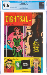 Eightball #1 (Fantagraphics Books, 1989) CGC NM+ 9.6 White pages