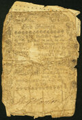 Colonial Notes:Rhode Island, Rhode Island March 18, 1776 5s About Good-Good.. ...