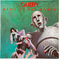 Music Memorabilia:Autographs and Signed Items, Queen Signed News of the World Vinyl LP (Elektra, 6E-112)....