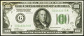 Small Size:Federal Reserve Notes, Fr. 2151-G $100 1928A Federal Reserve Note. Very Fine-Extr...