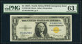 Small Size:World War II Emergency Notes, Fr. 2306 $1 1935A North Africa Silver Certificate. PMG Cho...