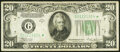 Small Size:Federal Reserve Notes, Fr. 2056-G* $20 1934B Federal Reserve Star Note. Very Fine...