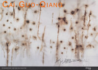 Cai Guo-Qiang (b. 1957) A Explosion Event: Light Cycle over Central Park, exhibition poster, 2005 Offset lithograph in...