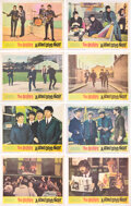 Music Memorabilia:Posters, The Beatles A Hard Day's Night Complete Set of Eight Lobby Cards (United Artists, 1964).... (Total: 8 Items)