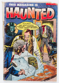 This Magazine Is Haunted #13 (Fawcett Publications, 1953) Condition: GD-