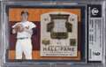 Baseball Cards:Singles (1970-Now), 2005 UD Hall of Fame Materials Mickey Mantle (Gold) #HFM-M...