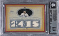 Baseball Cards:Singles (1970-Now), 2007 Topps Sterling Career Stats Relics Mickey Mantle (Qua...