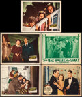 """Movie Posters:Comedy, Home Sweet Homicide & Other Lot (20th Century Fox, 1945). Overall: Fine+. Lobby Cards (5) (11"""" X 14""""). Comedy.. ... (Total: 5 Items)"""