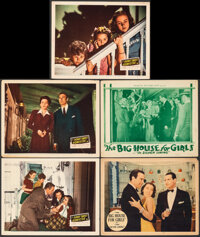 """Home Sweet Homicide & Other Lot (20th Century Fox, 1945). Overall: Fine+. Lobby Cards (5) (11"""" X 14""""). Com..."""
