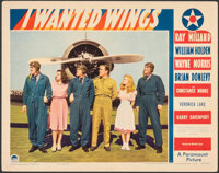 """I Wanted Wings (Paramount, 1941). Very Fine-. Lobby Card (11"""" X 14""""). War"""