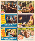 """Movie Posters:Drama, The Bad and the Beautiful & Other Lot (MGM, 1953). Very Fine-. Lobby Cards (5) & Title Lobby Card (11"""" X 14""""). Drama.. ... (Total: 6 Items)"""