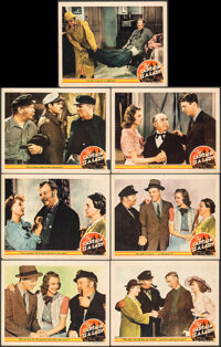 """The Captain is a Lady (MGM, 1940). Fine+. Lobby Cards (7) (11"""" X 14""""). Comedy. ... (Total: 7 Items)"""