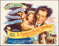 """Movie Posters:Comedy, A Connecticut Yankee in King Arthur's Court (Paramount, 1949). Folded, Fine/Very Fine. Half Sheet (22"""" X 28"""") Style A. Comed..."""