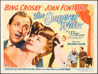 """The Emperor Waltz (Paramount, 1948). Folded, Very Fine-. Half Sheet (22"""" X 28"""") Style A. Musical"""