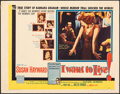 """Movie Posters:Drama, I Want to Live! (United Artists, 1958). Rolled, Fine+. Half Sheet (22"""" X 28"""") Style B. Drama.. ..."""