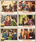 """Movie Posters:Swashbuckler, The Three Musketeers (MGM, 1948/R-1956). Very Fine-. Lobby Cards (6) (11"""" X 14""""). Swashbuckler.. ... (Total: 6 Items)"""