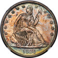 1884 50C Repunched Date, WB-102, MS67+ NGC....(PCGS# 572269)