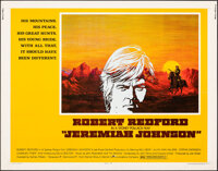 """Jeremiah Johnson & Other Lot (Warner Bros., 1972). Rolled, Overall: Fine+. Half Sheets (2) (22"""" X 28""""). We..."""