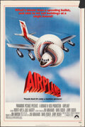 """Movie Posters:Comedy, Airplane! (Paramount, 1980). Rolled, Fine+. One Sheet (27"""" X 41"""") Robert Grossman Artwork. Comedy.. ..."""