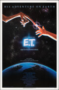 """Movie Posters:Science Fiction, E.T. The Extra-Terrestrial (Universal, 1982). Rolled, Very Fine. One Sheet (27"""" X 41"""") John Alvin Artwork. Science Fiction...."""