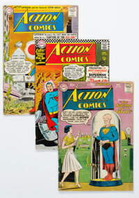 Action Comics Group of 63 (DC, 1959-68) Condition: Average VG-.... (Total: 63 Comic Books)