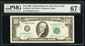 Small Size:Federal Reserve Notes, Fr. 2029-B* $10 1990 Federal Reserve Star Note. PMG Superb...