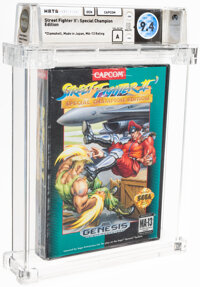Street Fighter II': Special Champion Edition - Wata 9.4 A Sealed, GEN Capcom 1993 USA