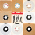 """Music Memorabilia:Recordings, The Beatles """"She Loves You""""/""""I'll Get You"""" Lot of Nine Rare 45 Singles (Swan S-4152-S, S-4152-1, 1963,1964). ... (Total: 9 Items)"""