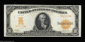 Large Size:Gold Certificates, Fr. 1168 $10 1907 Gold Certificate Very Choice New. A ...