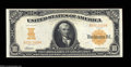 Large Size:Gold Certificates, Fr. 1169 $10 1907 Gold Certificate Choice About New. This ...