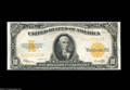 Large Size:Gold Certificates, Fr. 1173 $10 1922 Gold Certificate Very Choice New. Superb ...