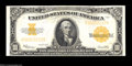 Large Size:Gold Certificates, Fr. 1173 $10 1922 Gold Certificate Very Choice New. Bright,...