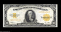 Large Size:Gold Certificates, Fr. 1173 $10 1922 Gold Certificate About New. Beautifully ...