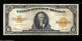 Large Size:Gold Certificates, Fr. 1173 $10 1922 Gold Certificate Star Note Very Fine. ...