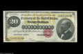 Large Size:Gold Certificates, 1882 $20 Gold Certificate, Fr-1178, Very Fine+. A lovely ...