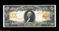 Large Size:Gold Certificates, Fr. 1185 $20 1906 Gold Certificate Choice New. Broadly ...
