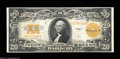 Large Size:Gold Certificates, Fr. 1187 $20 1922 Gold Certificate Very Choice New. A bit ...