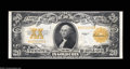 Large Size:Gold Certificates, Fr. 1187 $20 1922 Gold Certificate Very Choice New. This ...