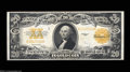 Large Size:Gold Certificates, Fr. 1187 $20 1922 Gold Certificate Choice New. Nice ...